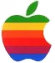 Apple Logo clear 55x63 Apple s