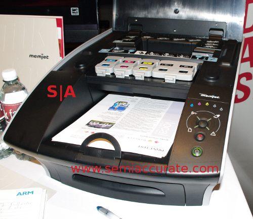 Memjet printer open