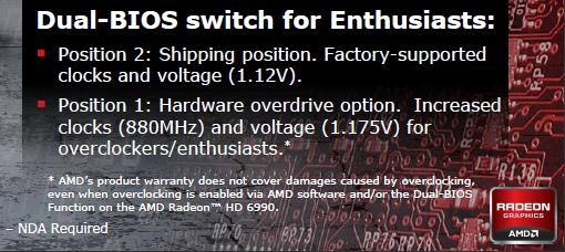 AMD warning text