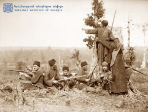 """Amushed soldiers at Tsikhisdziri"", Russo-Turkish war of 1877-1878"