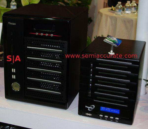 Thecus N4100Eco and TopTower N6