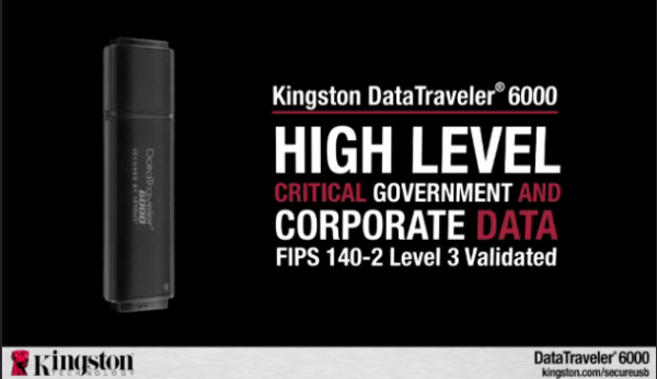 """... Level Security Kingston Announces the """"Most Secure"""" Flash Drive"""