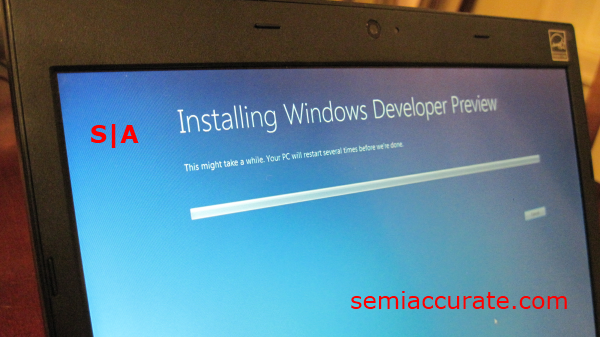 Installing DP A Look at the Windows 8 Developer Preview