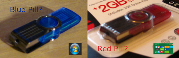 Red Pill Blue Pill A Look at the Windows 8 Developer Preview