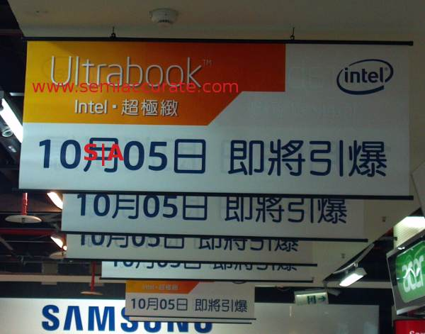 Intel Ultrabook launch