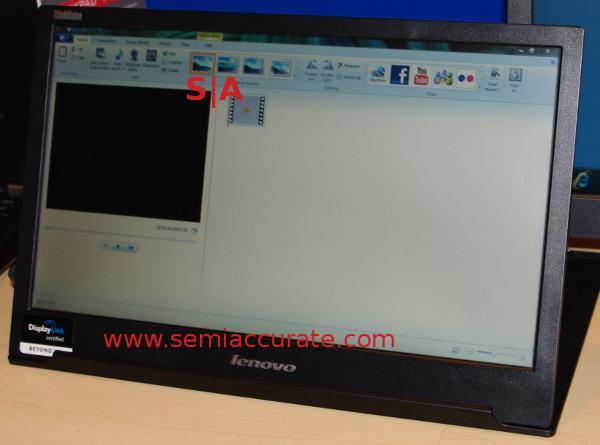 Lenovo USB Monitor
