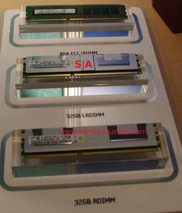 Samsung 32GB DIMMs