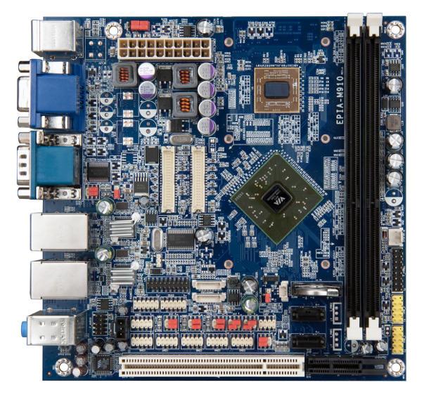 VIA EPIA-M910 Mini-ITX Board - Top