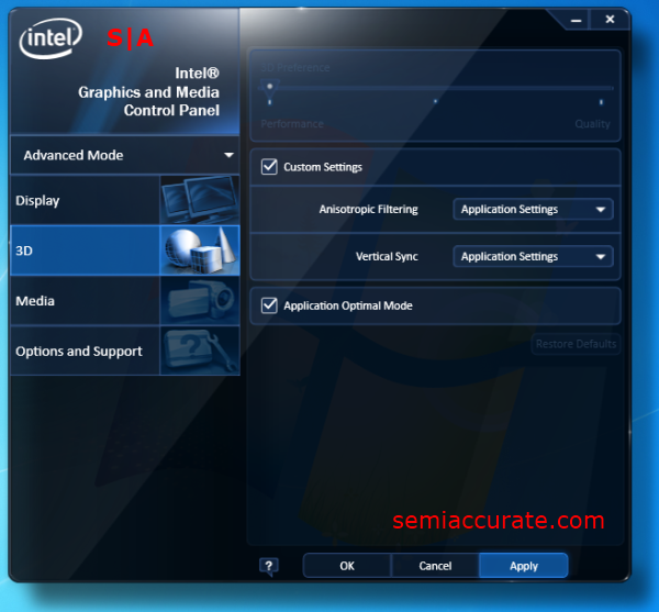 Скачать драйвер на видеокарту intel hd graphics 4000