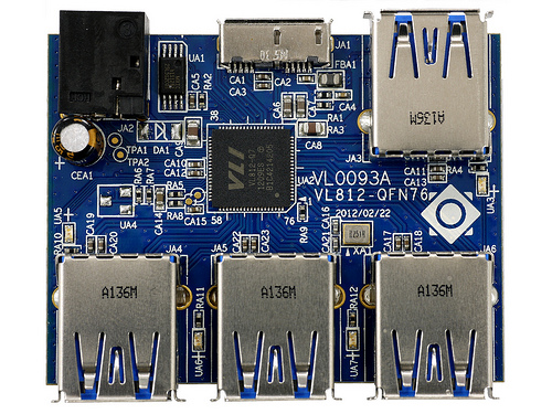 Via VL812 USB3 board
