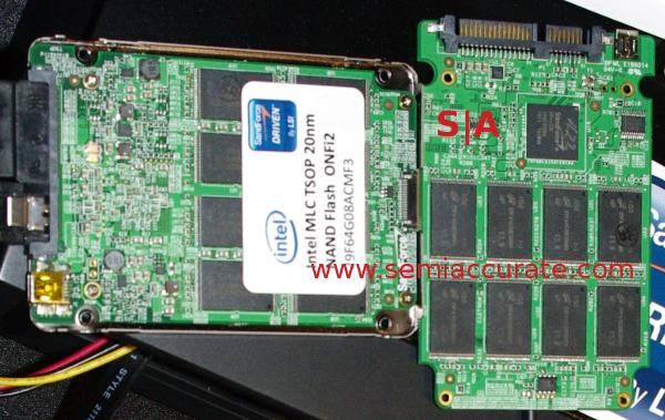 Intel 20nm ONFI Flash