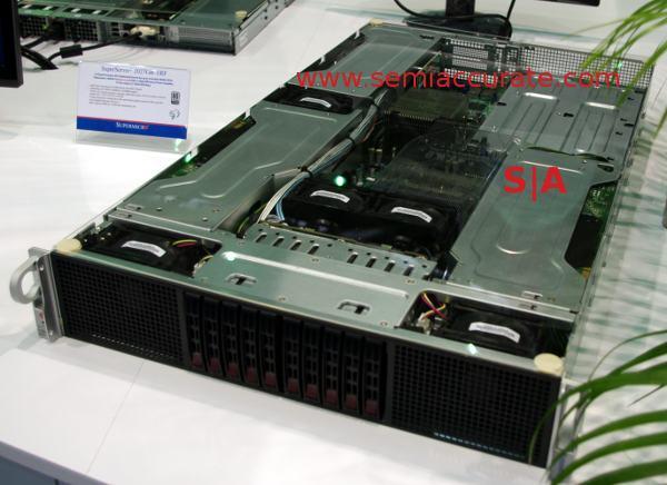 Supermicro 2U 6 GPU server
