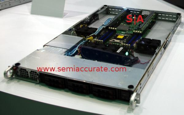 Supermicro 3 GPU 1U server