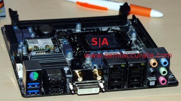 Gigabyte ITX for media centers