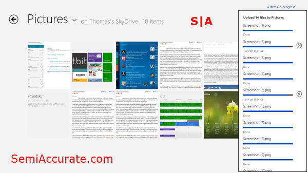 Skydrive App Living with Microsofts Surface RT