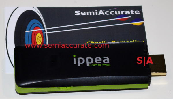 Ippea HDMI PC Ingenic Semiconductor powers two of the most innovative devices at CES