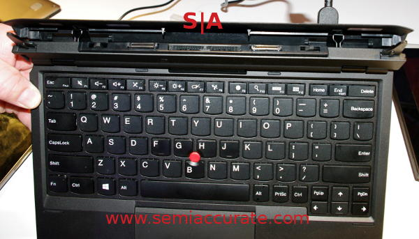 Lenovo Thinkpad Helix docking keyboard vents