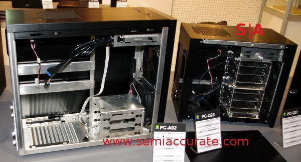 Lian-Li PC-A02 and PC-Q28 cases
