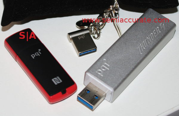 PQI Thunder NFC imini PQI puts out the fastest USB flash drive