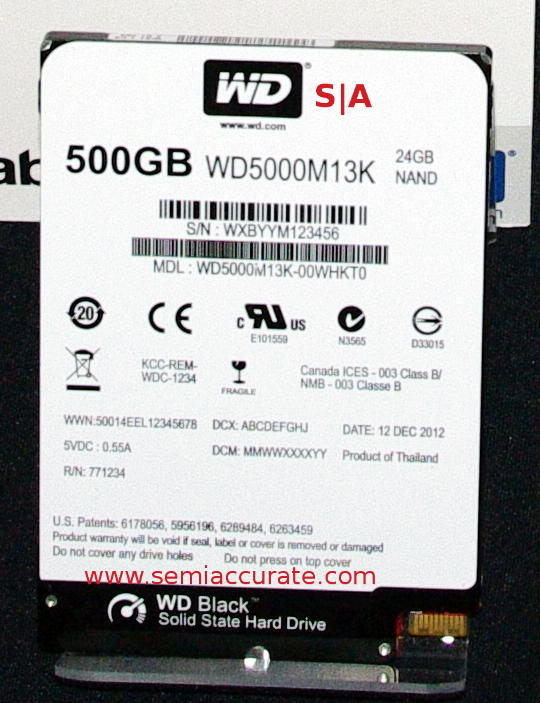 WD Black SSHD Western Digitial outs new generation Hybrid HDDs
