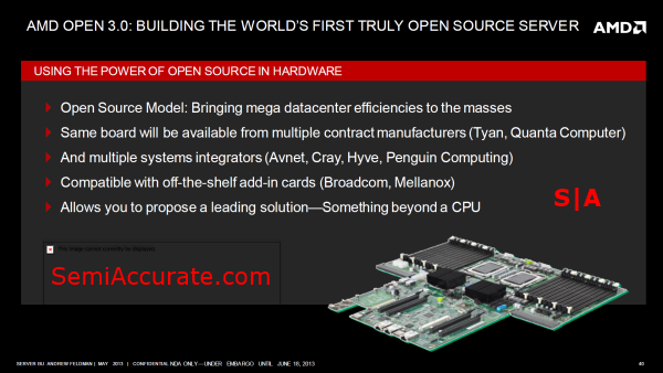 AMD OpenCompute Slide