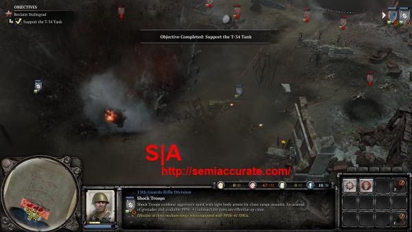 CoH2 Stalingrad Tank Explosion