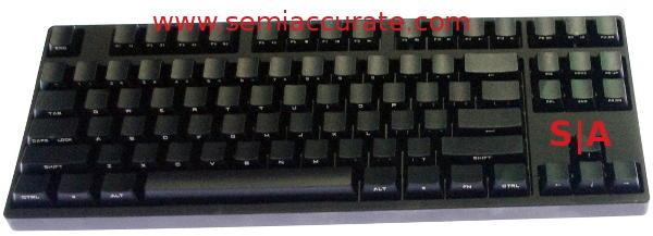 Coolermaster Quickfire Stealth keyboard