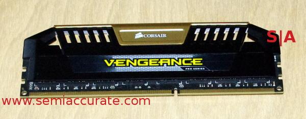 Corsair Vengeance DDR3-3200 memory