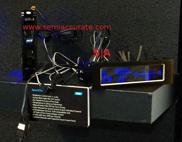 Gelid Speedtouch6 fan controller