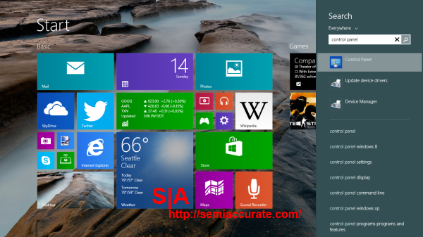 Windows 81 Search
