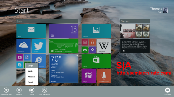 Windows 81 Tiles