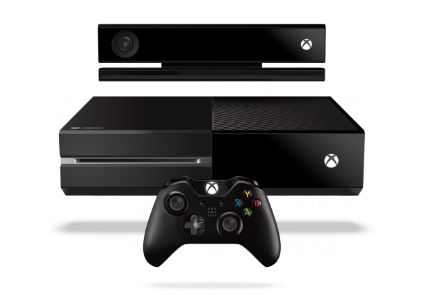 XboxOne DayOne Consle Sensr controllr F TransBG RGB 2013 617x425 The Microsoft Xbox One backpedaling chronicled