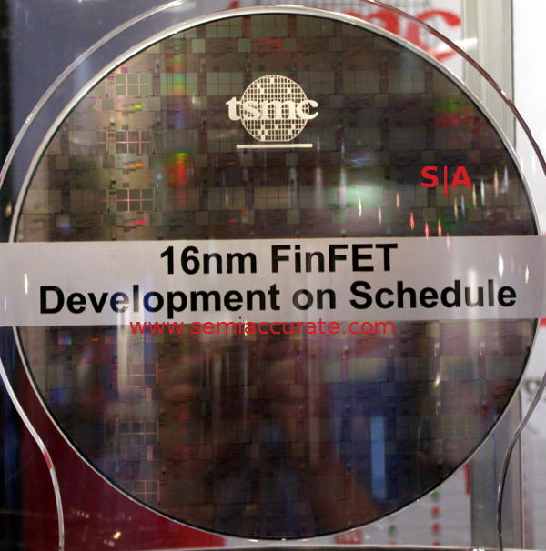TSMC 16nm FinFET wafer