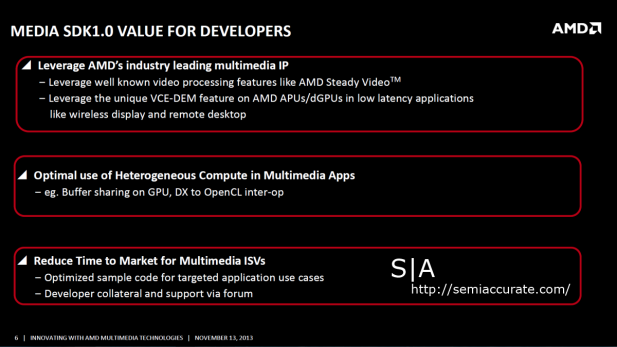 AMD Media SDK Devs