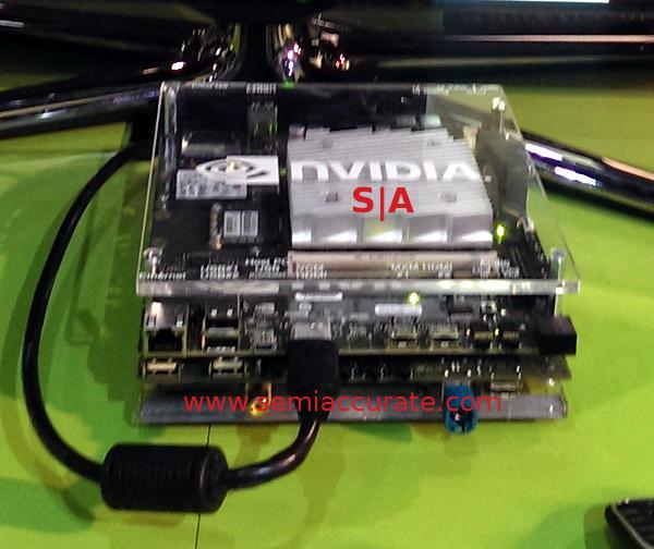 Nvidia's CES NDA Tegra K1 demo rig