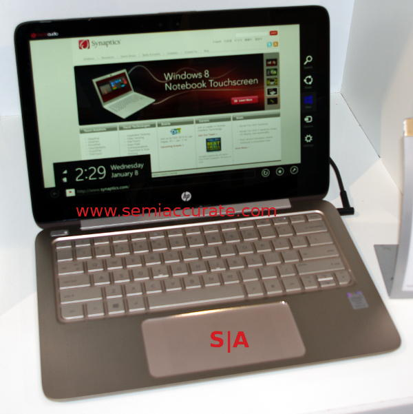 Synaptics Forcepad in an HP craptop