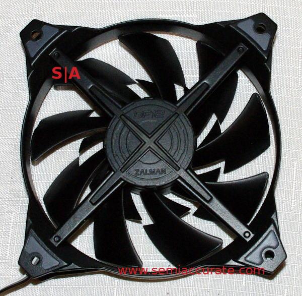 Zalman DF12 dual bladed fan