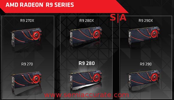 AMD Radeon R9 card lineup