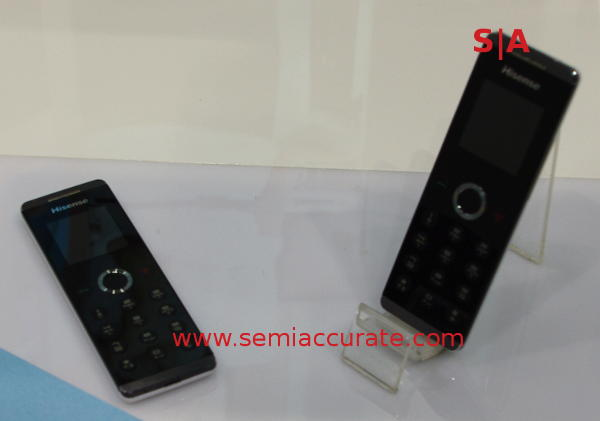 HiSense Maxe X1 phone remote