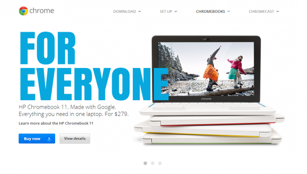 Chrome OS Ad 617x351 Intel Touts Dominance in Chromebooks