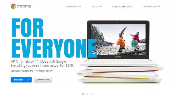 Chrome OS Ad 617x351 Intel Touts Dominance in Chromebooks