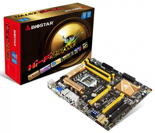 b20140505 617x529 Biostar Introduces the Intel Z97 based Hi Fi Z97WE Motherboard