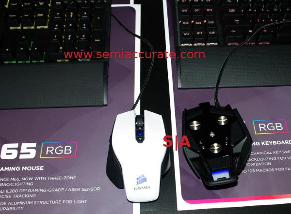 Corsair RGB mice and keyboards