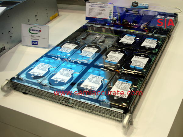 Supermicro cold storage server