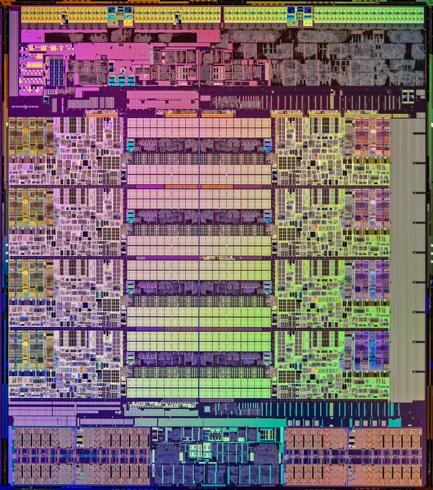 Intel Haswell E Die
