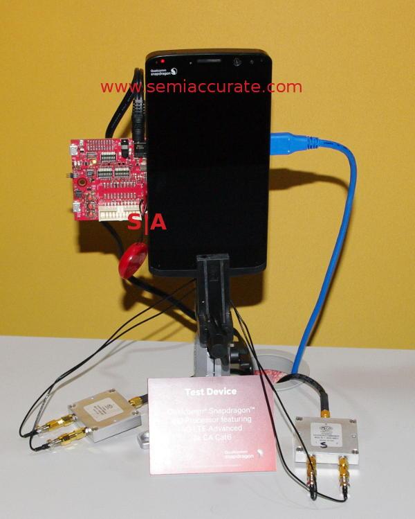 Qualcomm 810 3x LTE demo hardware