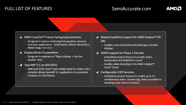 AMD Cataylst Omega Features List 2