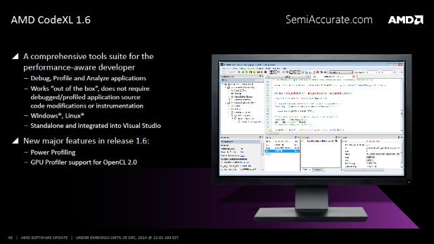 AMD CodeXL 1.6