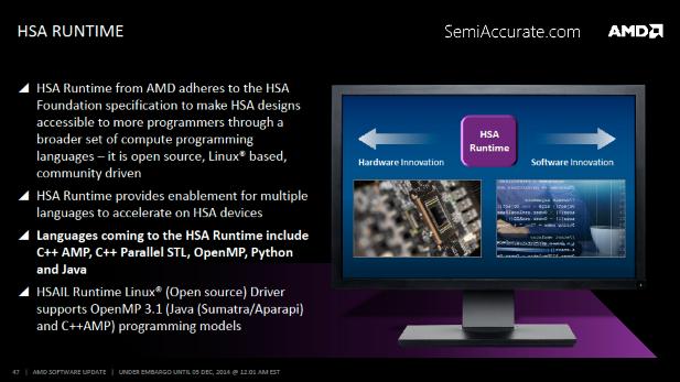 AMD HSA Runtime