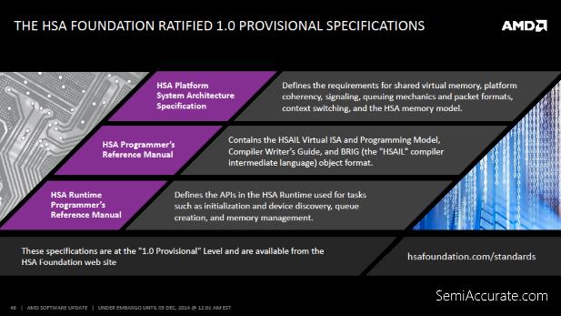 AMD HSA Spec